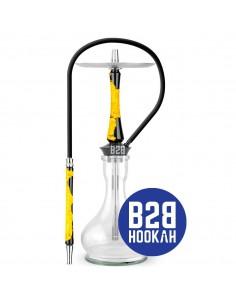 cachimba-union-hookah-hybrid-yellow-thunder-oso-clear